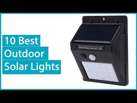10 best outdoor solar lights 2018