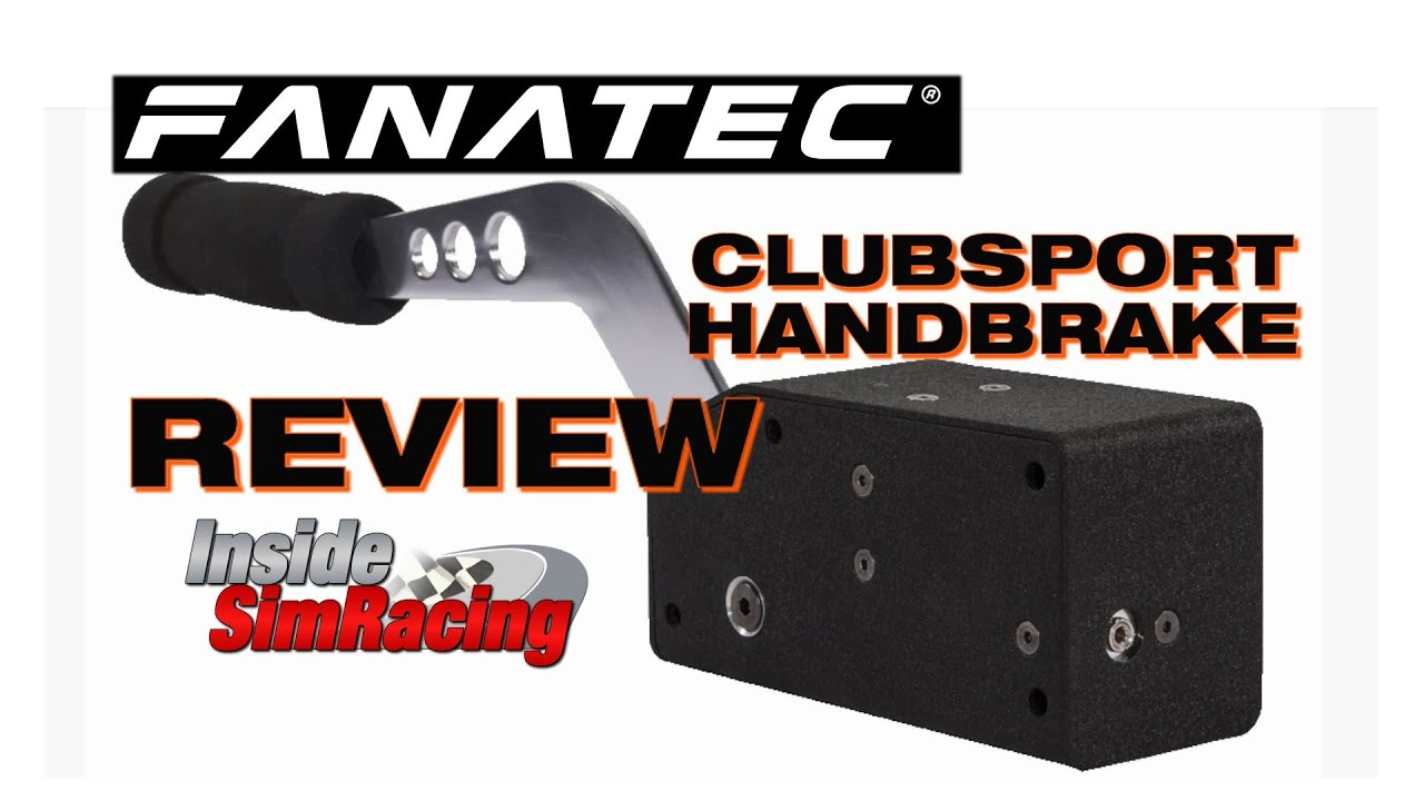 Fanatec Clubsport Handbrake Review