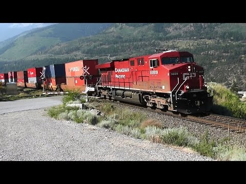 Canadian Pacific and Canadian National  Railway