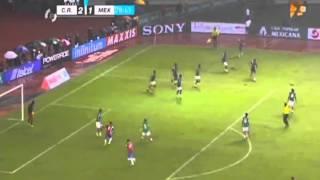 COSTA RICA vs MEXICO   Hexagonal rumbo a Brasil 2014,    Octubre,2013