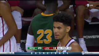 Men's Basketball: USC 75, North Dakota State 65 - Highlights 11/13/17