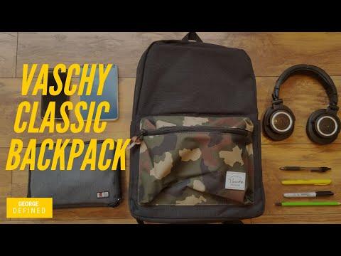Vaschy Classic Backpack Giving the Herschel Pop Quiz A Run  25  Super  Budget Urban Everyday Backpack 9d6b2aa5fb799