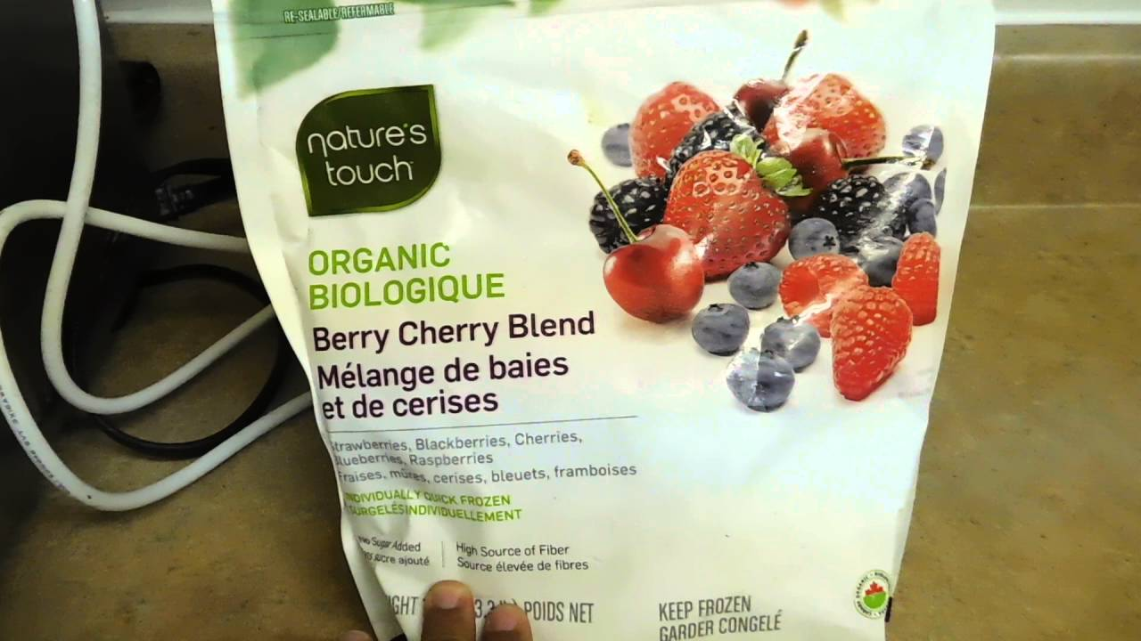 Costco Product Recall - Nature's Touch Organic Berry Cherry Blend