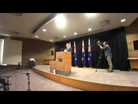NZ PM John Key's Post-Cabinet Press Conference 2/2/16