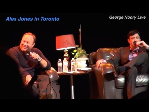 Nick Pope & Alex Jones at George Noory Live in Toronto