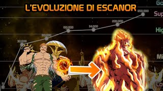 Download lagu L'EVOLUZIONE DI ESCANOR ( LEONE DELLA SUPERBIA) - NANATSU NO TAIZAI - ITA