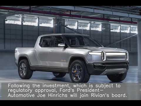 Ford to Invest $500 Million in Rivian, a Tesla Rival