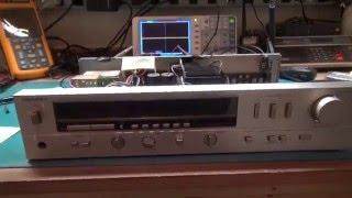 STEREO AMPLIFIER REPAIR TECHNICS SA-206