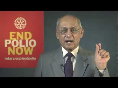 Rotary celebrates India's first polio-free year.mp4