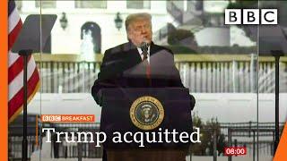 The Senate acquits Trump in second impeachment trial 🔴 @BBC News - BBC