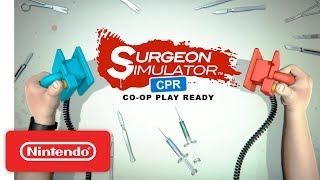Surgeon Simulator CPR - Launch Trailer - Nintendo Switch