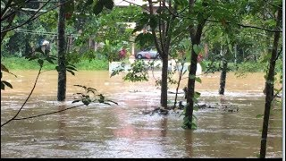 Floods Of Maneed Village Unfolds View