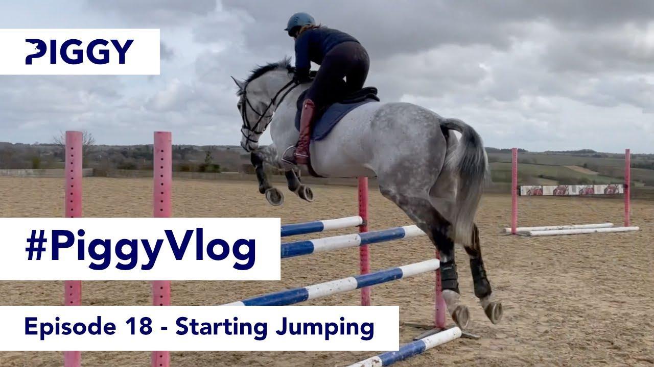 Starting Jumping   Episode 18   #PiggyVlog 2021