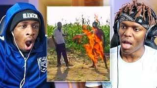 Download REACTING TO INTERNET STUFFS WITH KSI (AFRICAN EDITION) Mp3 and Videos