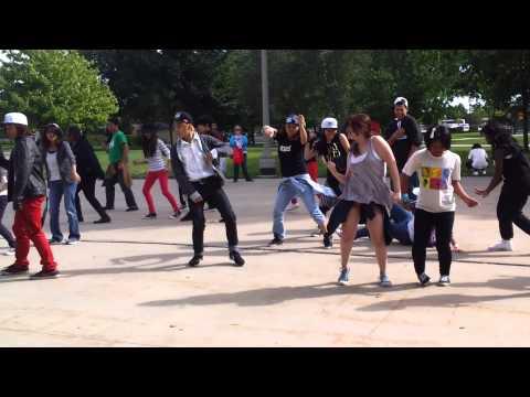 Chicago Exo Flashmob Museum Campus
