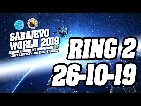 WAKO World Championships 2019 Ring 2 26/10/19