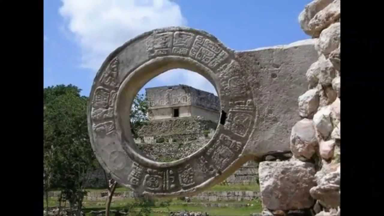 las construcciones de los mayas youtube
