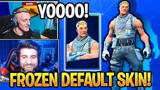 Streamers React to NEW FROZEN DEFAULT SKIN JONESY in Fortnite Daily Item Shop Moments