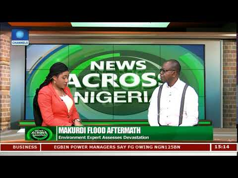 Makurdi Flood Aftermath: Environment Expert Assesses Devastation