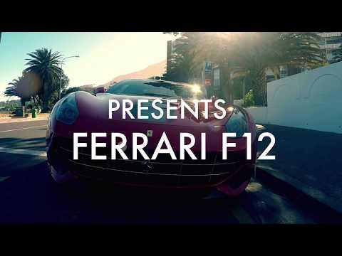 INSANE FERRARI F12 | 4K | CAPE TOWN