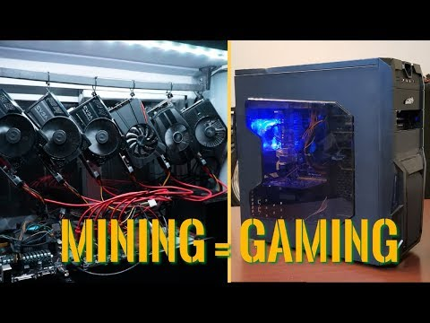 Turning A Mining Rig Into A Budget Gaming PC