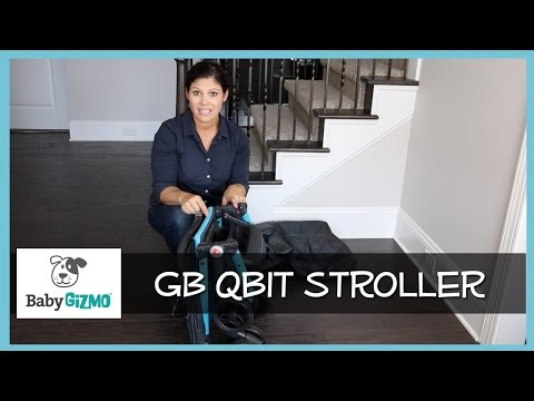 GB Qbit Travel Stroller Review by Baby Gizmo