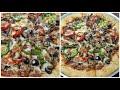 طريقة عمل البيتزا اسهل طريقة عمل البيتزا بالسجق🍕🍕 محشية الأطراف بالجبنة🧀 الخطيرة🔥 فيديو من يوتيوب