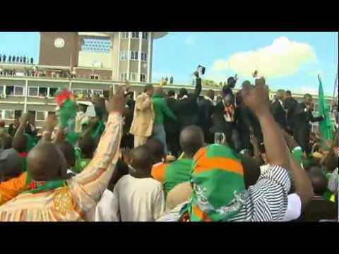 Hero's welcome for Zambia's champions