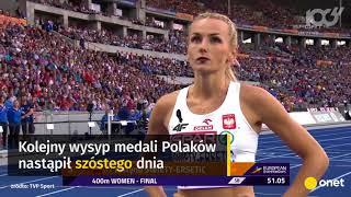 Mistrzostwa Europy w lekkoatletyce - MEDALE Polaków | Onet100