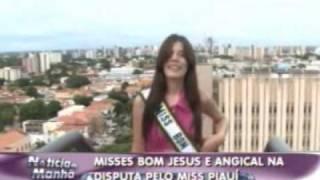 Confira as Misses Bom Jesus e Angical que estão na dipusta pelo Miss Piauí