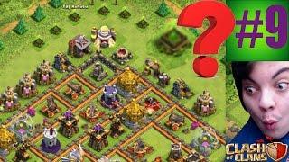 COC!! Köy İncelemeleri #9 (Savaş Taktikleri) Clash of Clans