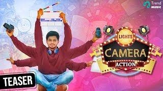 Lights Camera Action Movie Official Teaser | Yuvaraj Krishnasamy | Balaji Jayabalan | Trend Music