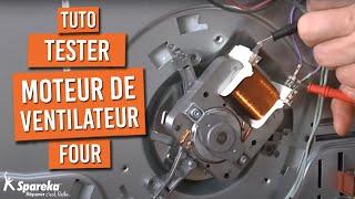 Tester Moteur Ventilateur Four