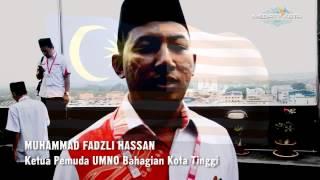 UCAPAN KEMERDEKAAN MALAYSIA KE 57  - KETUA PEMUDA UMNO KOTA TINGGI