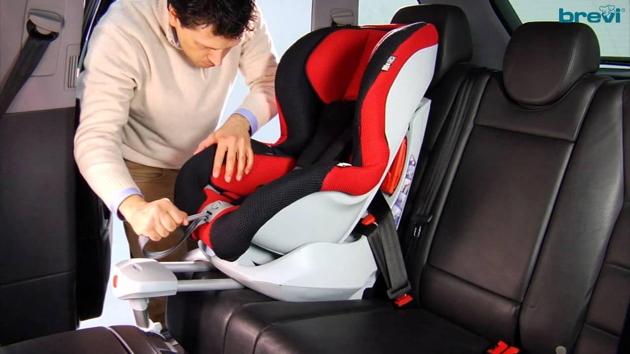 Brevi Axo Isofix il montaggio del seggiolino in auto