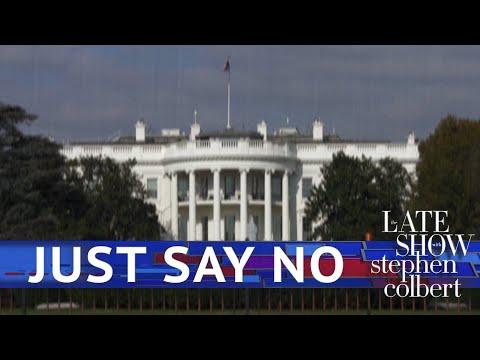 Stephen Colbert's 'Just Say No' Spoof PSA Targets Trump Administration For Refusing Subpoenas