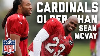 Top 5 Cardinals Older Than Rams Head Coach Sean McVay   NFL Highlights