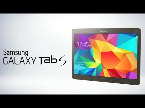 Samsung Galaxy Tab S 10.5 Inch Hands On Review, Price And Features Overview