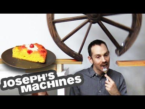 The Cake Server | Joseph's Most Complex Machine Ever!