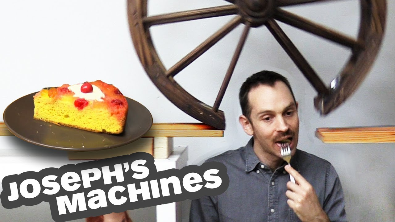 The Cake Server | Joseph's Most Complex Machine Ever