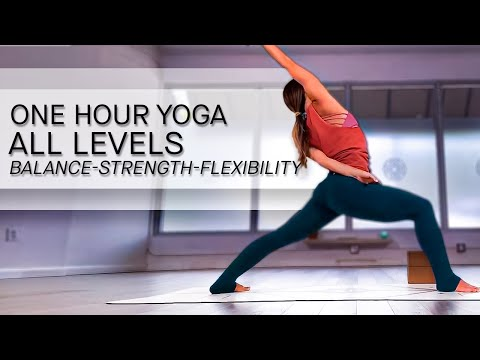 Yoga For A Happy Day- One Hour Class For All Levels