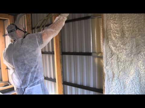 видео: Утепление гаража контейнера жилого вагончика в Кирове