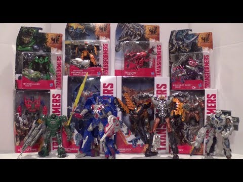VLOG 78: Transformers: Age of Extinction Toy Haul