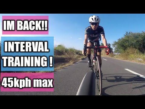 interval training 45kph max! with erpats