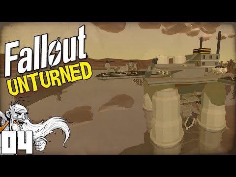 """Fallout Unturned Mods! """"AIRCRAFT CARRIER AND OIL PLATFORM!!!"""" - Unturned Gameplay"""
