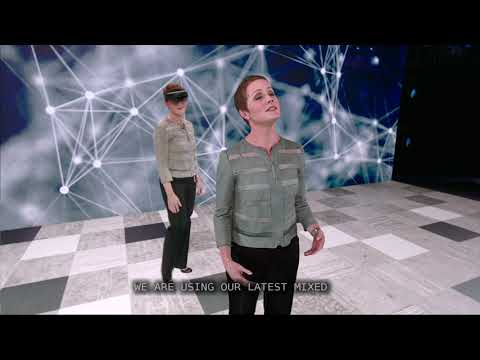 Demo: The magic of AI neural TTS and holograms at Microsoft Inspire 2019