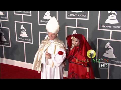Nicki Minaj on the Red Carpet for 54th Grammy Awards