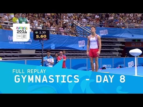 Gymnastics - Individual Apparatus Finals Day 8  | Full Replay | Nanjing 2014 Youth Olympic Games