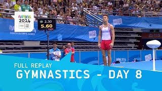 Gymnastics - Individual Apparatus Finals Day 8  | Full Replay | Nanjing 2014 Youth Olympic Games