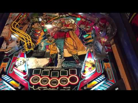Back to the Future Day! BTTF Pinball review 10.21.2015